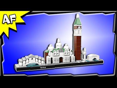 Lego Architecture VENICE 21026 Stop Motion Build Review