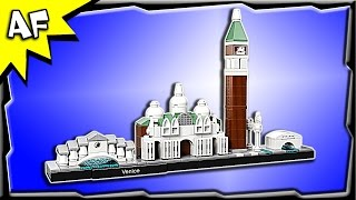 Lego Architecture VENICE 21026 Stop Motion Build Review