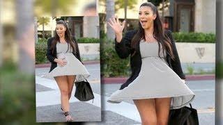 Kim Kardashian est dans le vent et nie avoir utilisé du Botox pendant sa grossesse