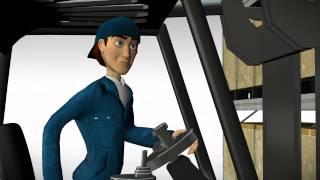 Linde Safety Pilot - система защиты от ошибок оператора погрузчика(, 2014-11-18T13:45:46.000Z)