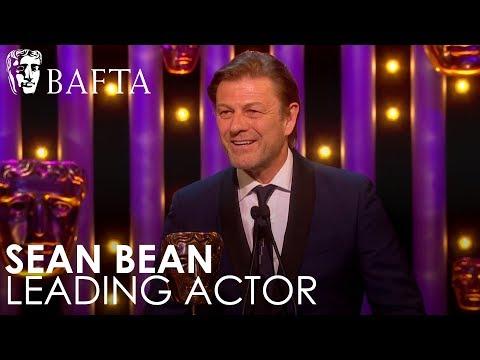 Sean Bean wins Leading Actor  BAFTA TV Awards 2018