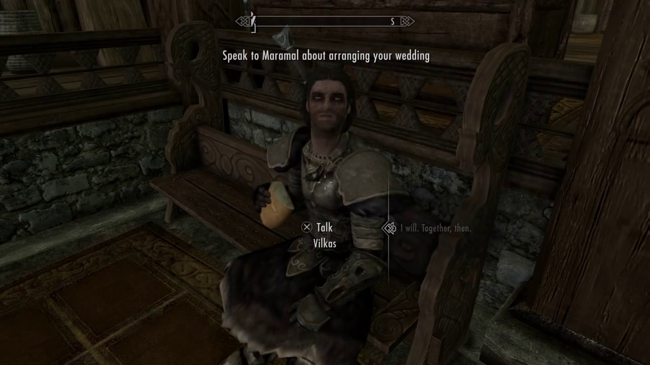 how to propose in skyrim