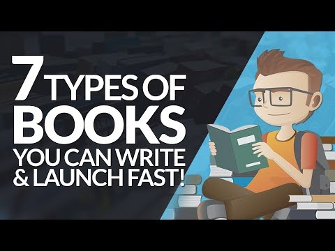 7 Types Of EBooks You Can Write & Launch Fast! #BSI 31