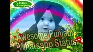 punjabi whatsapp status | punjabi status for whatsapp