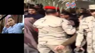أهالي كفر غنام بالدقهلية يشيعون جنازة شهيد تفجير المدرعة بالعريش
