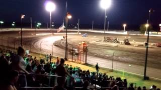 Sycamore Speedway Compact Heat 07/24/2015