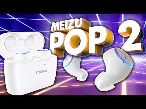 💪6 ЧАСОВ без перерыва?! Meizu POP2 - Мега автономность😎 и хороший звук👍 (meizu Pop 2 обзор Tws)