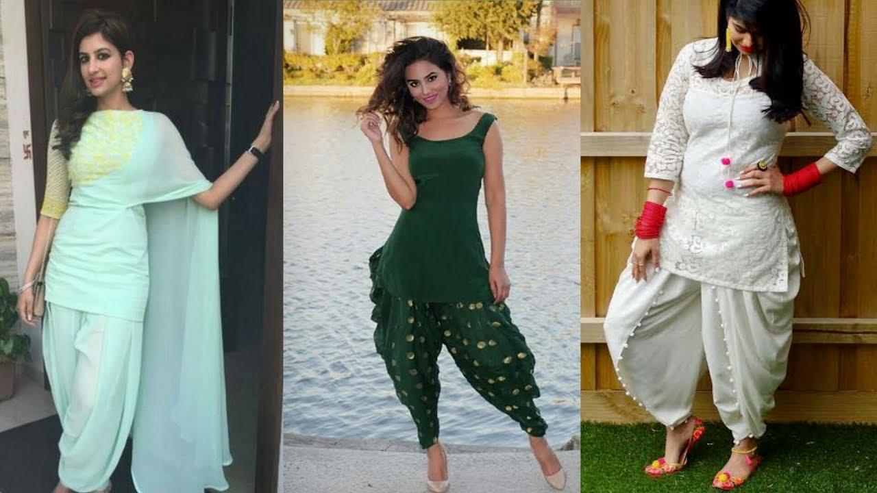 634df25c00e Dhoti Salwar Fashion || Ladies Kurti With Dhoti Salwar/Kameez || Fashion  Jass Kaur