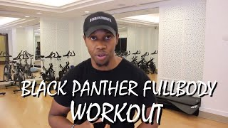 Black Panther Bodyweight Workout — New Persona