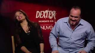 Lauren Velez & David Zayas' Fun Interview  |Dexter on NUVOtv