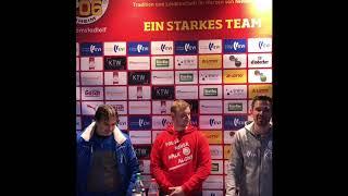 VfV06-Arminia Hannover, Pressekonferenz