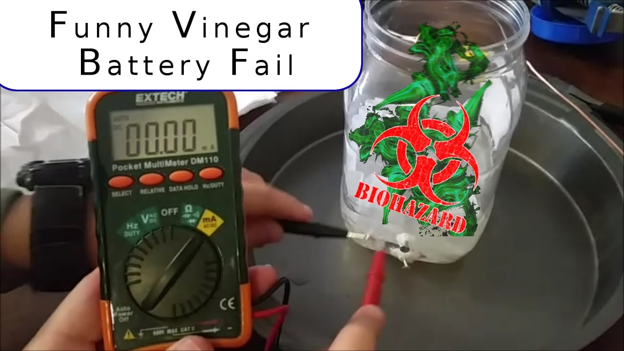vinegar as alternative battery Here is an interesting way to convert your standard vinegar into a working battery learn the technique to create an alternative source of energy using vinegar make a vinegar battery.