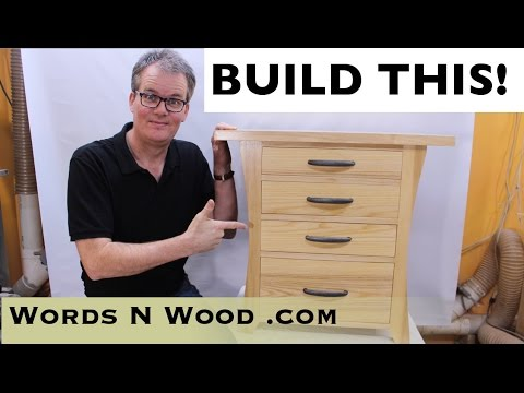 Easy Build Mission Nightstand (WnW#49)