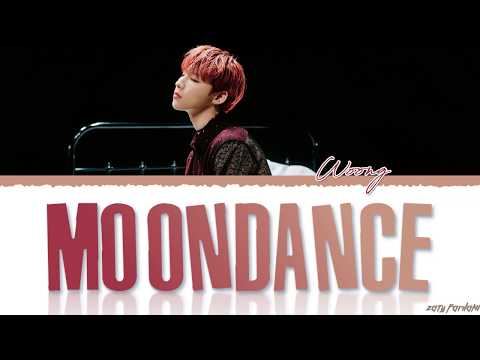 AB6IX (JEON WOONG) - 'MOONDANCE' Lyrics [Color Coded_Han_Rom_Eng]