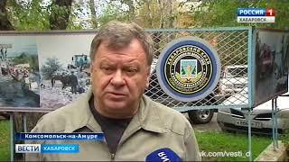 Вести-Хабаровск. Тайфун в Комсомольске