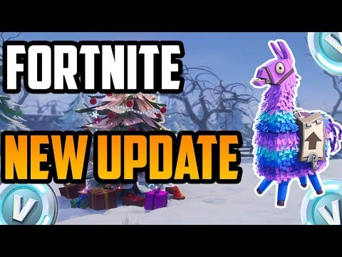 Fortnite Christmas Update Forums