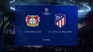 Bayer Leverkusen vs Atletico Madrid - FIFA 20 (Full Gameplay)
