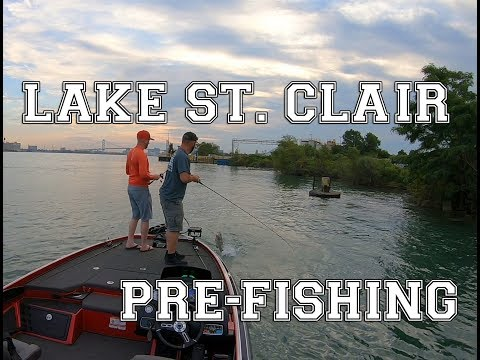 Pre-Fishing Trips For T&H Marine BFL Michigan Division!