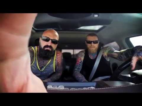 "Chris ""Birdman"" Andersen and Charlie Ricks in the Urban Outdoorsmen reality show"