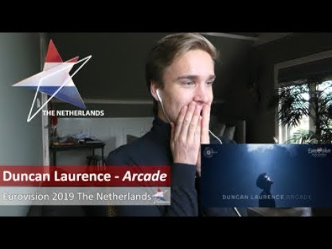 Reaction video Duncan Laurence - Arcade The Netherlands Eurovision 2019