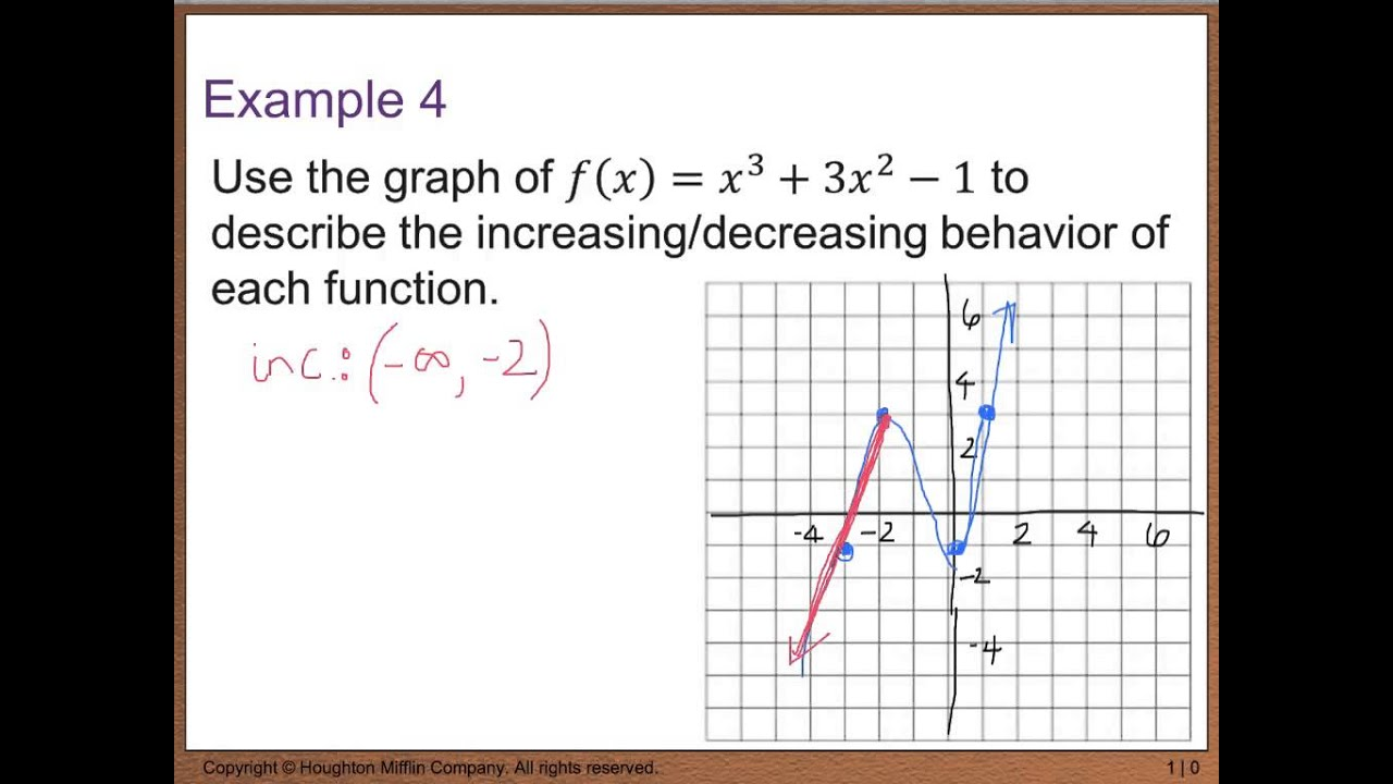 worksheet Analyzing Graphs Of Functions Worksheets precalc 1 5 analyzing graphs of functions youtube functions