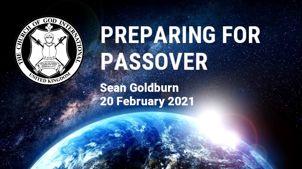 CGI UK - 20 Feb 2021 - Preparing for Passover - Sean Goldburn