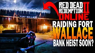 Raiding Fort Wallace So We Can Rob a Bank?! Red Dead Redemption 2 Online Beta [RDR2]