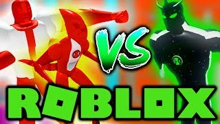 Roblox Ben 10 - ALIEN X VS ALBEDO! (Roblox Ben 10 Arrival Of Aliens)