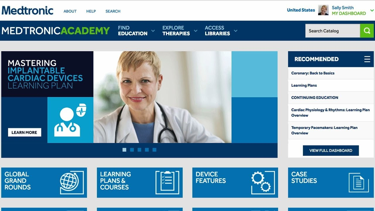Medtronic Academy: How to Use My Dashboard