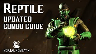 Download Video Mortal Kombat X: REPTILE Combo Guide MP3 3GP MP4