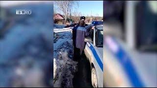 В Красноуфимске поймали пьяного водителя, который еле стоял на ногах
