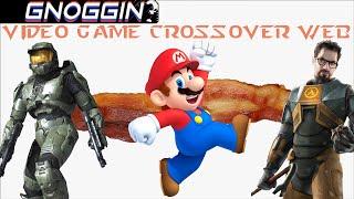 Video Game Crossover Web part 1 | Gnoggin | Halo to Mario