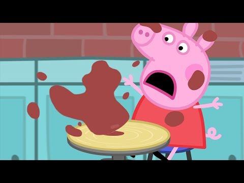 Peppa Pig Português Brasil | Poças De Lama | HD | Desenhos Animados