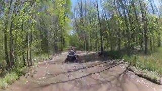 Brute Force 750 Sportsman 850 XMR 1000 Mudding w/MN Mayhem Mud Riders