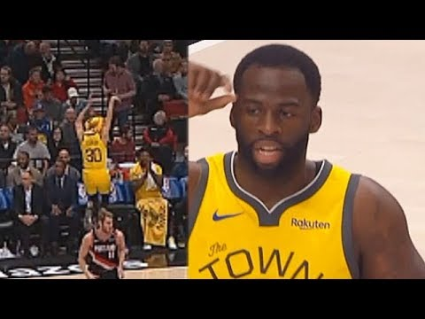 Stephen Curry Makes Fun Of Draymond Green's Ugly Jump Shot Who Then Trash Talks Trail Blazers!