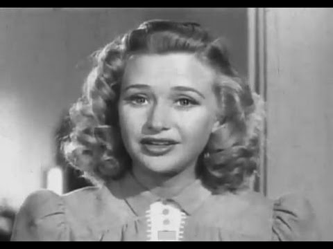Priscilla Lane  American Red Cross  Play Your Part  1941