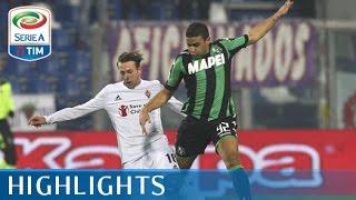 Sassuolo - Fiorentina 1-1 - Highlights - Matchday 14 - Serie A TIM 2015/16