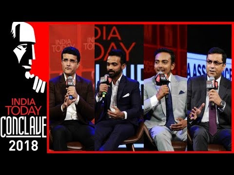 Ganguly, Rahane, Prithvi Shaw & Rahul Johri | Game Changers: Form And Format | IT Conclave 2018