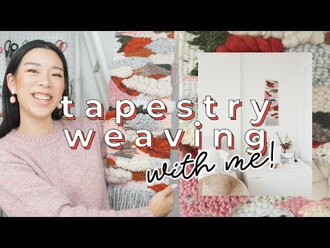 Tapestry Weaving A Wall Hanging (first Time) | WITHWENDY