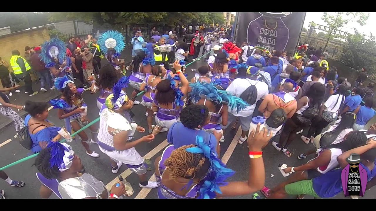 Notting Hill Carnival 2015 | Ice Cream Family x Soca Saga Boys