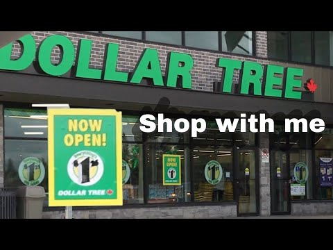 NOW OPEN HUGE New Dollar Tree Shop with me