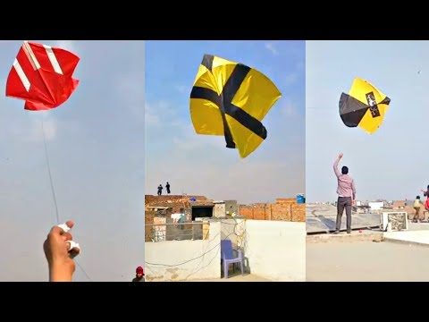 How To Fly Big Kites on roof in Pakistan ?