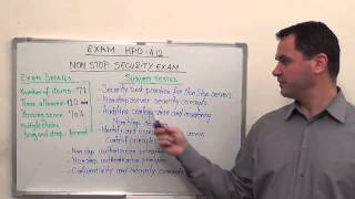 HP0-A12 - Test NonStop Exam Security Questions