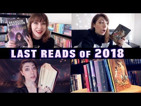 LAST READS OF 2018 | december reading vlog