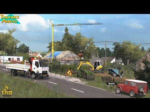FS17 - Travaux Publics Chantier  mini pelle CAT 305ECR #1