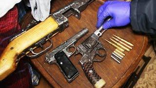 Полиция изъяла арсенал оружия времен Великой Отечественной войны