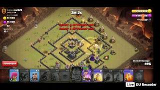 Skills like CWL clan war 3 star attck #3