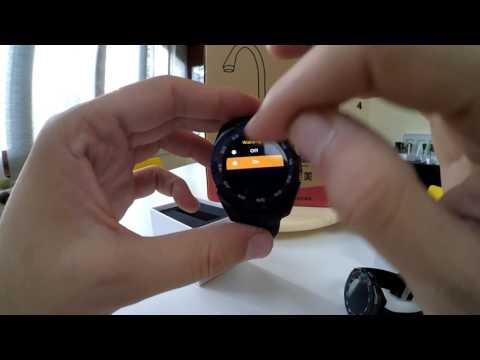 NO.1 G5 Smart Watch Heart Rate Monitor [Greek]