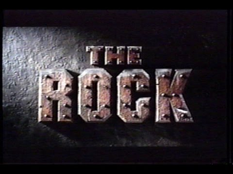 The Rock (1996) Trailer (VHS Capture)