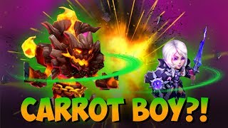 NEW Hero GAME PLAY Carrot Boy Castle Clash